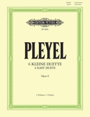 Ignaz Pleyel - 6 kleine Duette op. 8 - Sheet Music - di-arezzo.co.uk
