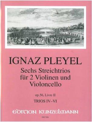 6 Trios op. 56 - Livre 2 : Nr. 4-6 -2 Violinen u. Violoncello - Stimmen laflutedepan