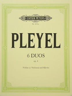 6 Duos op. 8 -2 Violinen Violine Klavier - laflutedepan.com