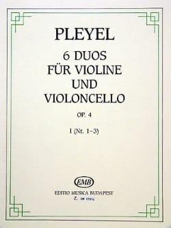 6 Duos für Violine und Violoncello op. 4 - Bd. 1 laflutedepan