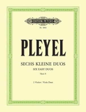 6 Petits Duos Op. 8 - 2 Violen - Ignaz Pleyel - laflutedepan.com