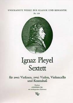 Ignaz Pleyel - Sextett -Partitur + Stimmen - Partition - di-arezzo.fr