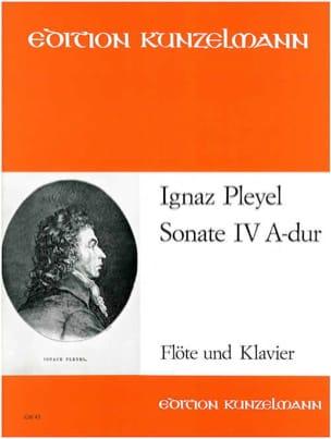 Sonate Nr. 4 A-Dur - Flöte Klavier - Ignaz Pleyel - laflutedepan.com