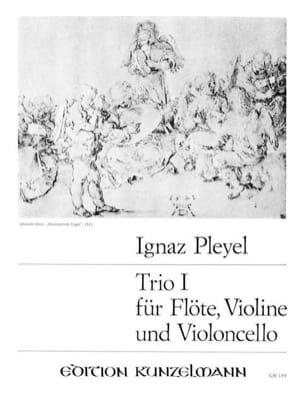 Ignaz Pleyel - Trio Nr. 1 op. 73 -Flöte Violine Violoncello - Stimmen - Partition - di-arezzo.fr