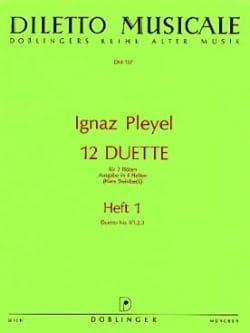 12 Duette, Heft 1 (N° 1/1, 2, 3) - 2 Flöten - laflutedepan.com