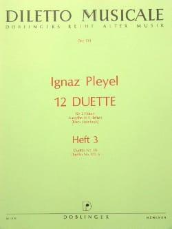 12 Duette, Heft 3 Nr. 1/6, 2/2, 6 - 2 Flöten laflutedepan