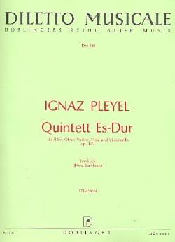 Quintett Es-Dur op. 10 Nr. 3 – Flöte Oboe Violine Viola Cello - Stimmen - laflutedepan.com