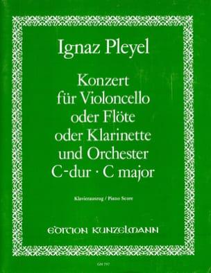 Ignaz Pleyel - Concerto en do majeur - Partition - di-arezzo.fr
