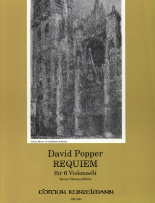 David Popper - Requiem für 6 Violoncelli - Partition - di-arezzo.fr