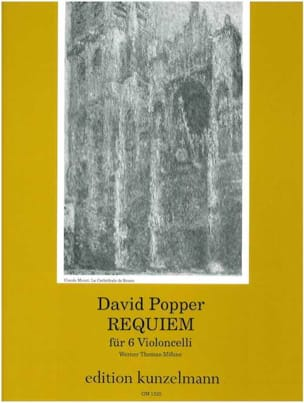 Requiem für 6 Violoncelli David Popper Partition laflutedepan