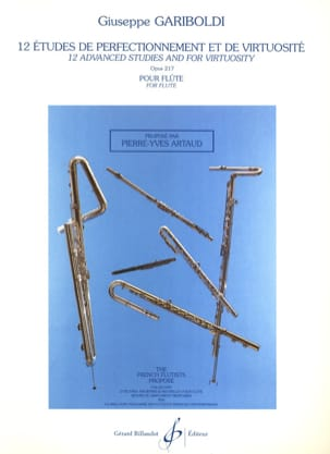 Giuseppe Gariboldi - 12 Studies of perfection and virtuosity op. 217 - Sheet Music - di-arezzo.co.uk