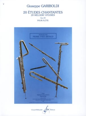 Giuseppe Gariboldi - 20 Etudes Chantantes Opus 88 - Partition - di-arezzo.ch