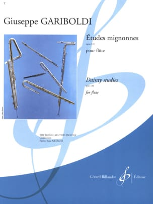 Etudes Mignonnes Opus 131 GARIBOLDI Partition laflutedepan