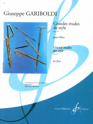 Giuseppe Gariboldi - Major studies of style op. 134 - Sheet Music - di-arezzo.com