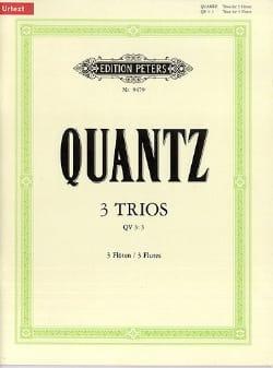 3 Trios QV 3 : 3 – 3 Flöten - Johann Joachim Quantz - laflutedepan.com