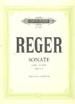 Sonate la mineur op. 116 - Max Reger - Partition - laflutedepan.com