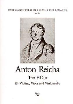 Anton Reicha - Trio F-Dur –Stimmen - Partition - di-arezzo.fr