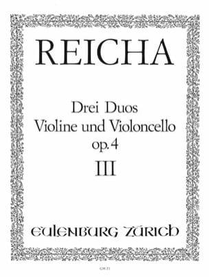 3 Duos op. 4 n° 3 - Violine und Violoncello laflutedepan
