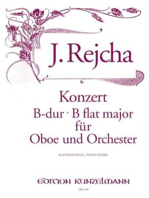 Joseph Reicha - Konzert für Oboe in B-Dur - Oboe Klavier - Partition - di-arezzo.fr