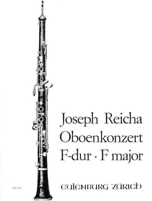 Konzert für Oboe in F-Dur - Oboe Klavier Joseph Reicha laflutedepan