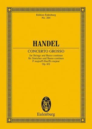 Concerto grosso F-Dur - Georg Friedrich Haendel - laflutedepan.com