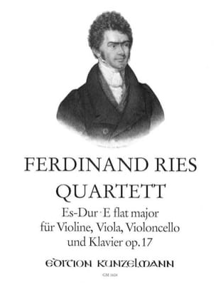 Ferdinand Ries - Quartett Es-Dur op. 17 - Stimmen - Sheet Music - di-arezzo.co.uk