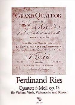 Quartett in f-moll op.13 – Stimmen - laflutedepan.com