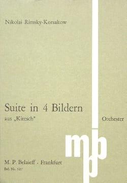 Nicolaï Rimsky-Korsakov - Suite in 4 Bildern - Partitur - Partition - di-arezzo.fr