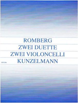 2 Duette op. 33 - Bernhard Romberg - Partition - laflutedepan.com