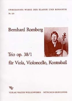 Trio op. 38 n° 1 -Stimmen - laflutedepan.com
