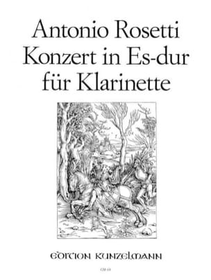 Antonio Rosetti - Konzert für Klarinette Es-Dur – Klarinette Klavier - Partition - di-arezzo.fr