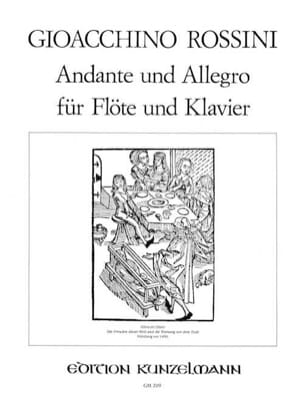 Gioacchino Rossini - Andante und Allegro - Flöte Klavier - Sheet Music - di-arezzo.co.uk