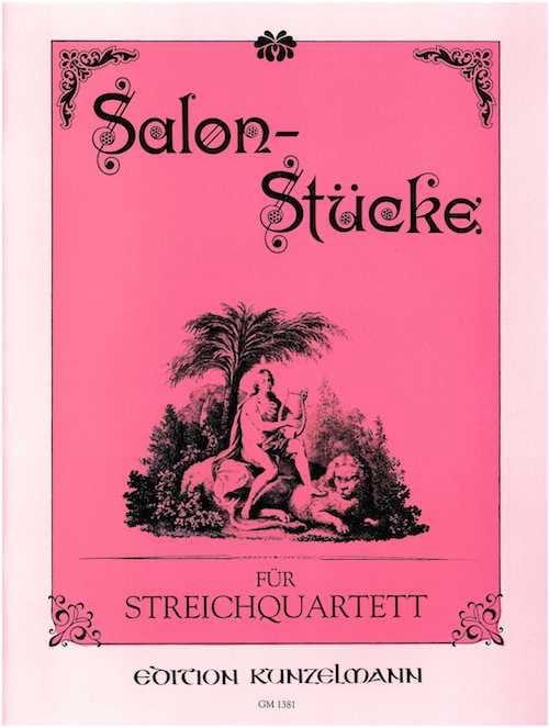 Salon-Stücke - Streichquartett - laflutedepan.com