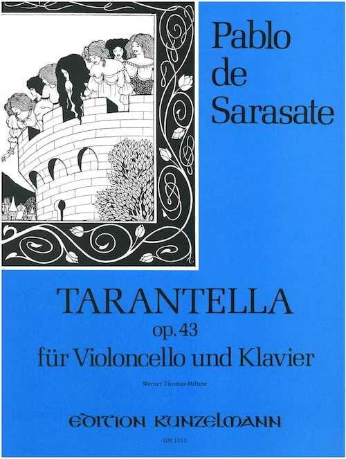Pablo de Sarasate - Tarantella op. 43 - Cello - Partition - di-arezzo.co.uk