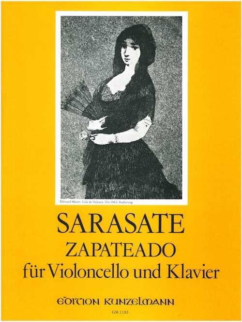 Pablo de Sarasate - Zapateado op. 23 - Cello - Partition - di-arezzo.co.uk