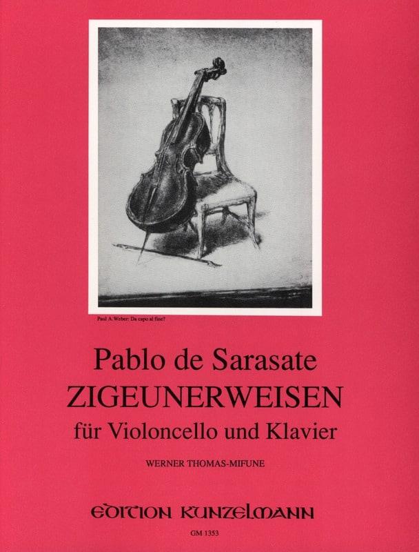 Pablo de Sarasate - Zigeunerweisen op. 20 - Partition - di-arezzo.co.uk