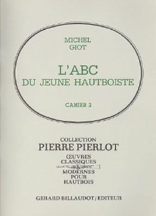 L' ABC du jeune hautboïste - Volume 2 - Michel Giot - laflutedepan.com