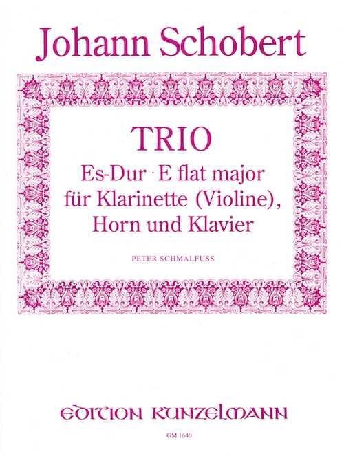 Trio Es-Dur -Klarinette Violine Horn Klavier - laflutedepan.com