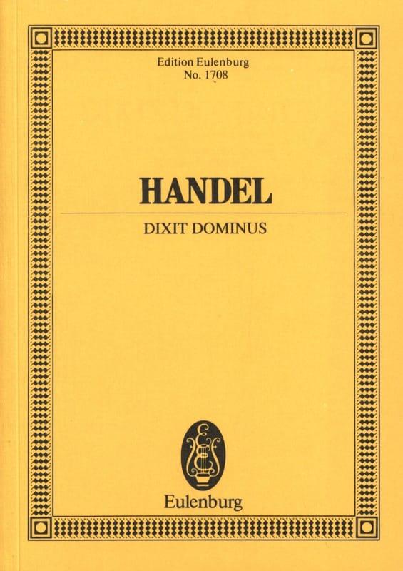 HAENDEL - Dixit Dominus - Partition - di-arezzo.co.uk