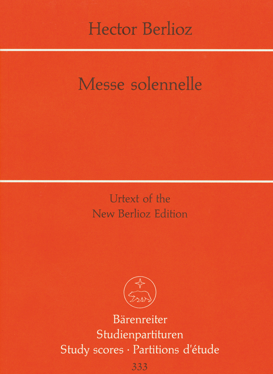 BERLIOZ - Solemn Mass - Partition - di-arezzo.co.uk