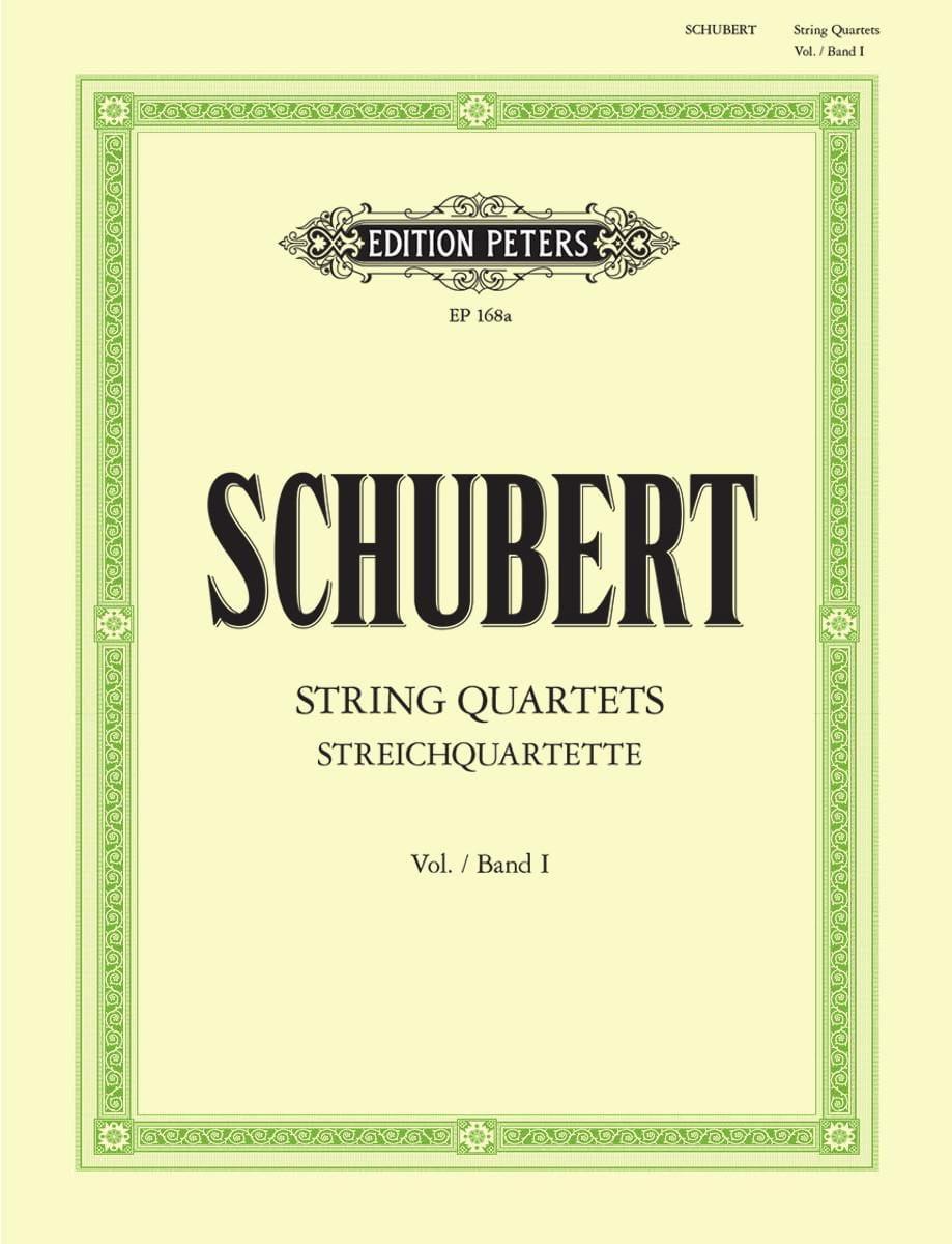 SCHUBERT - Streichquartette - Bd. 1 - Stimmen - Partition - di-arezzo.co.uk
