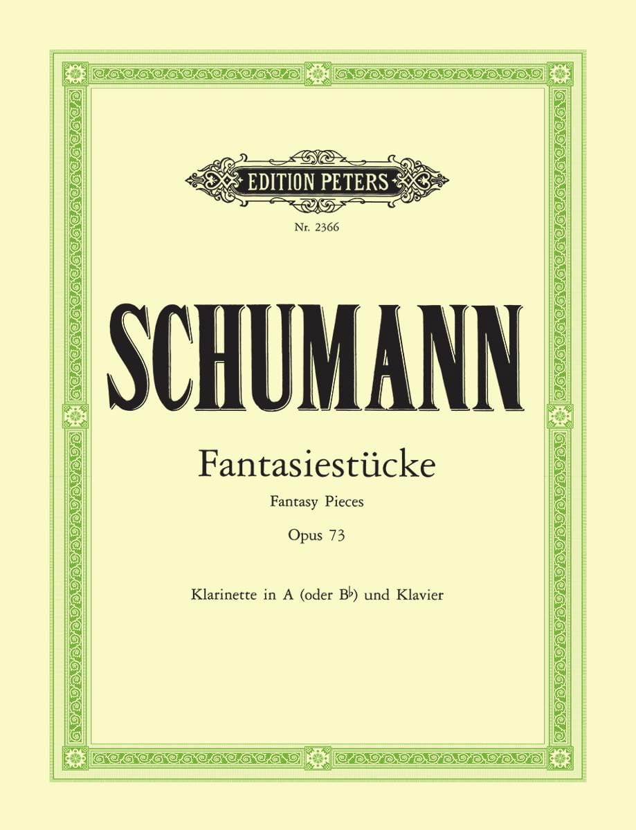 SCHUMANN - Fantasiestücke op. 73 - Partition - di-arezzo.com