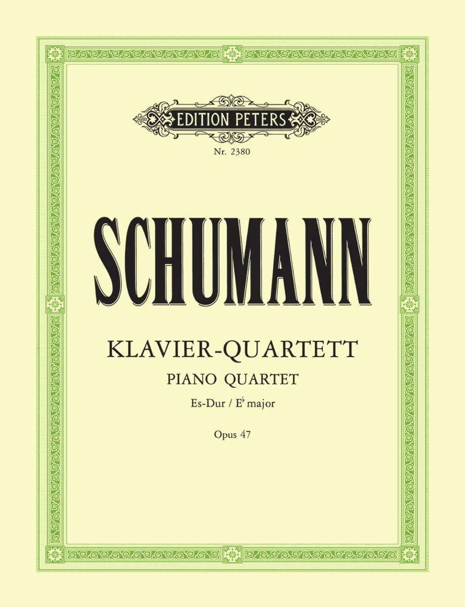 SCHUMANN - Klavierquartett Es-Dur op. 47 - parts - Partition - di-arezzo.co.uk