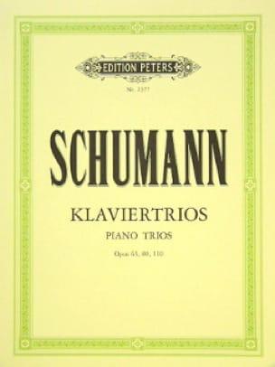 Klaviertrios op. 63, 80, 110 -Stimmen - SCHUMANN - laflutedepan.com