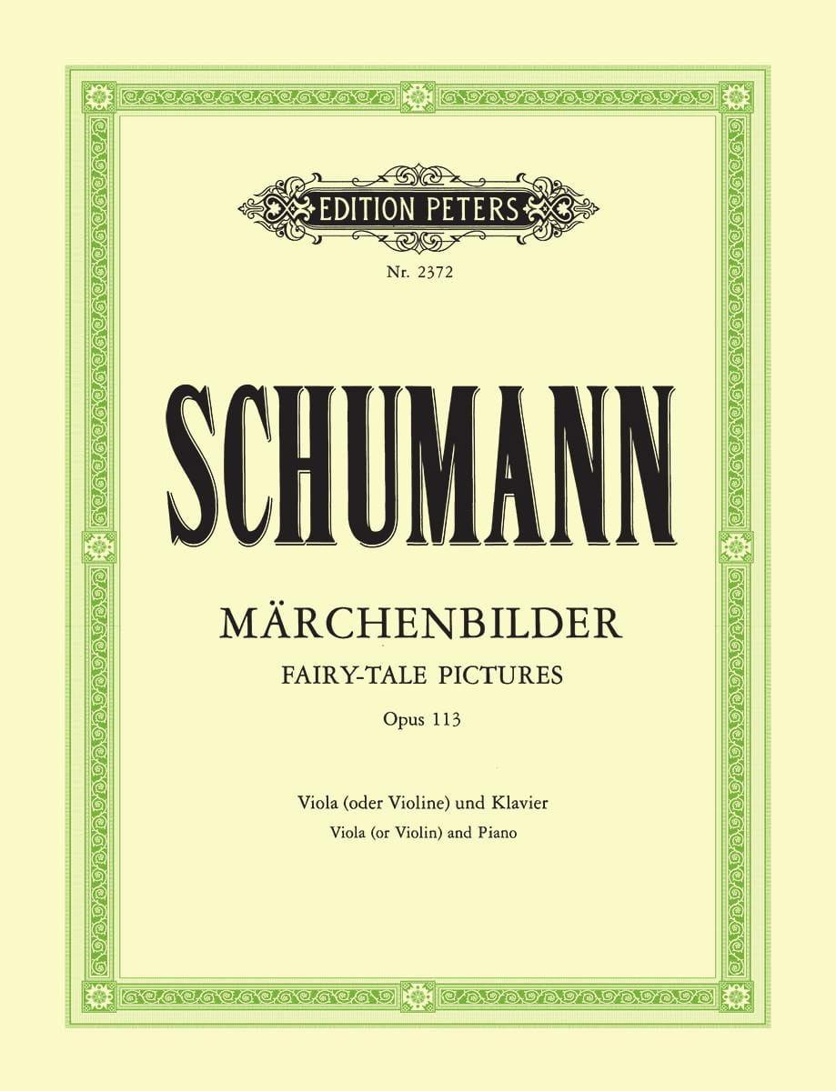 SCHUMANN - Märchenbilder op. 113 - Partition - di-arezzo.com
