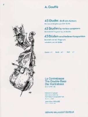 45 Etudes de divers auteurs, Volume 1 - A. Gouffé - laflutedepan.com
