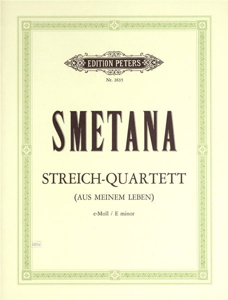 Bedrich Smetana - Streichquartett Aus meinem Leben - Stimmen - Partition - di-arezzo.co.uk