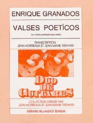 Valses poeticos - 2 guitares - GRANADOS - Partition - laflutedepan.com