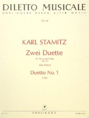Carl Stamitz - 2 Duette op. 10 - Duetto n ° 1 C-Dur - Partition - di-arezzo.de