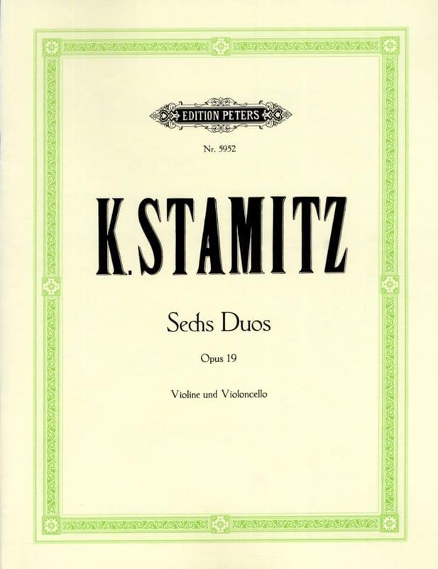 Carl Stamitz - 6 Duos op. 19 - Partition - di-arezzo.de